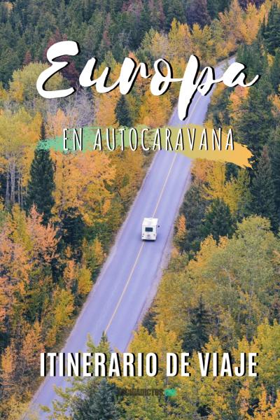 Europa en autocaravana, Pinterest.