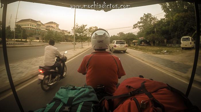 Moverse por Camboya
