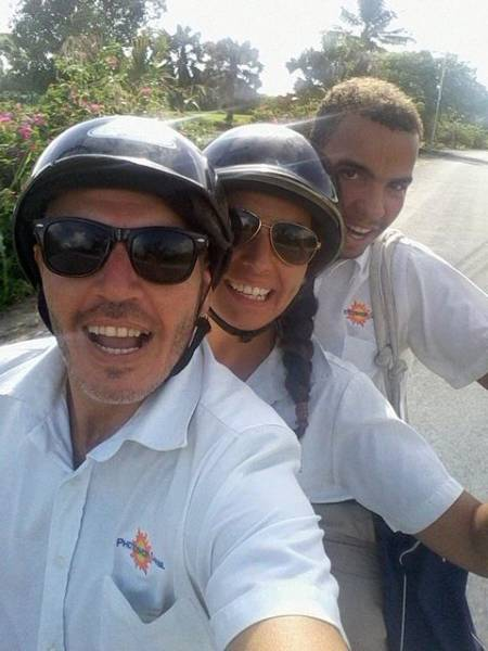 Yendo a trabajar en Punta Cana