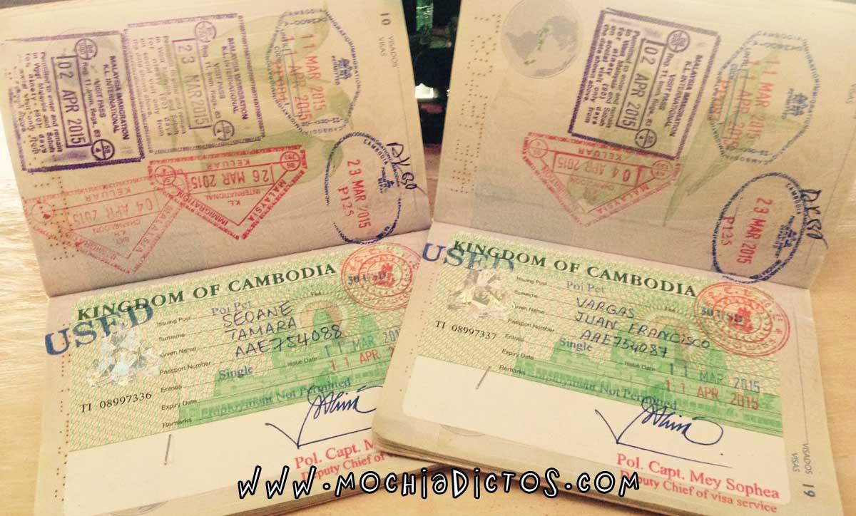 Visado camboya desde Tailandia