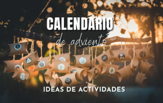 Ideas de actividades para calendario de adviento
