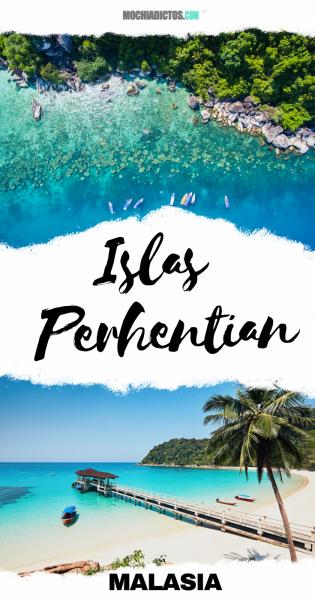 Islas perhentian, Malasia.