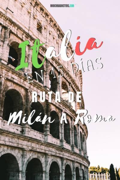Italia en 15 días