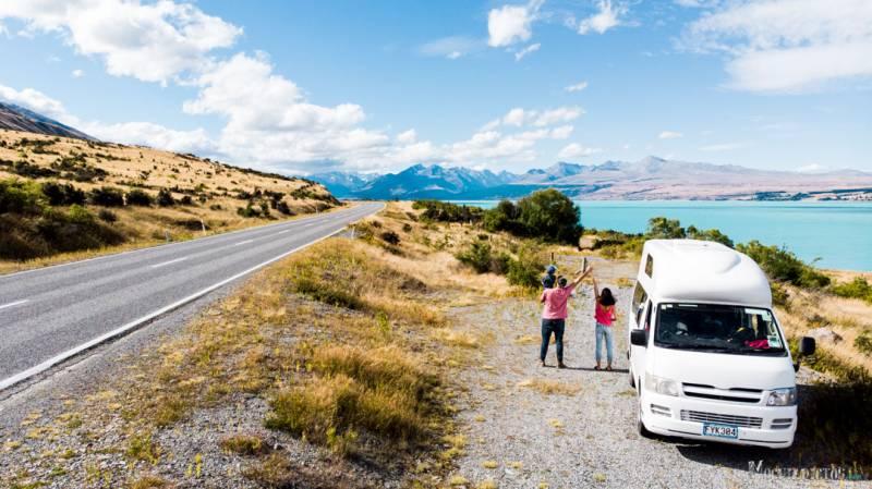 vacaciones en familia en Nueva Zelanda