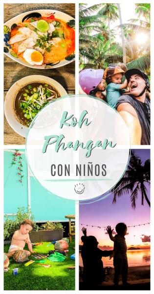Koh Phangan con niños, Pinterest.