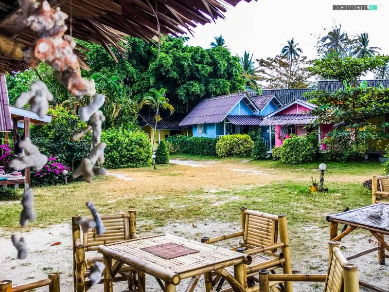 Koh Phangan consejos alojamiento
