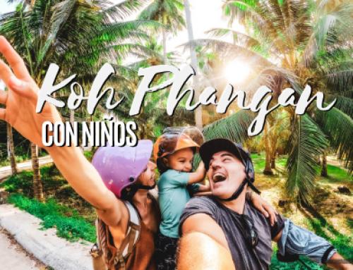 Koh Phangan con niños