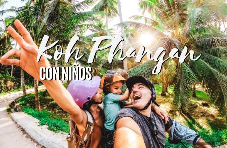 Koh phangan con niños , Tailandia.