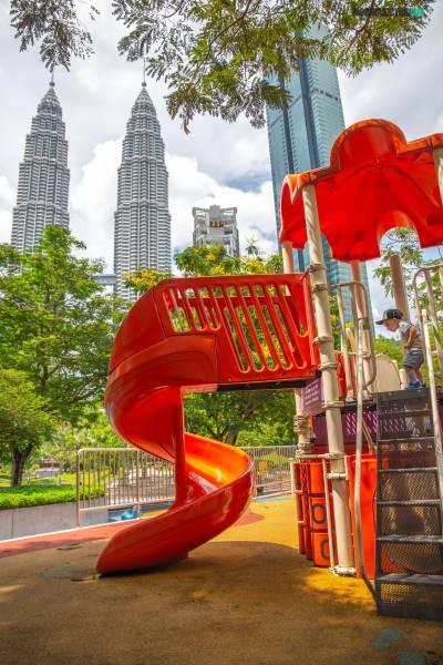 Kuala Lumpur con niños
