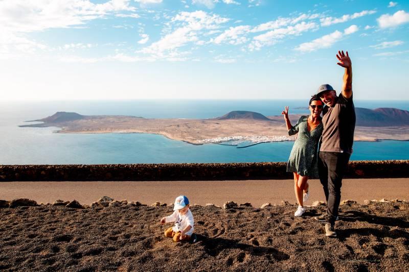 Lanzarote con bebé