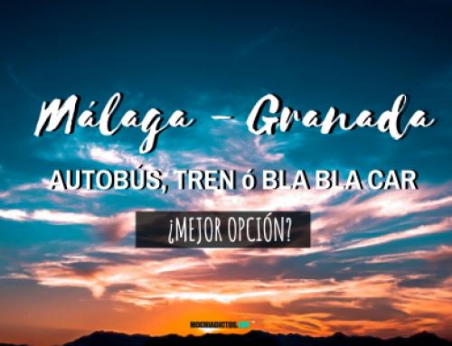 Málaga Granada : Autobús, tren ó  BlaBlaCar ¿Mejor opción?