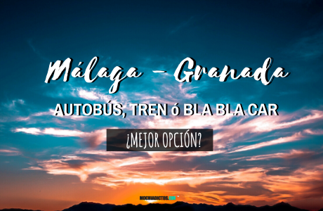 Málaga Granada Autobús