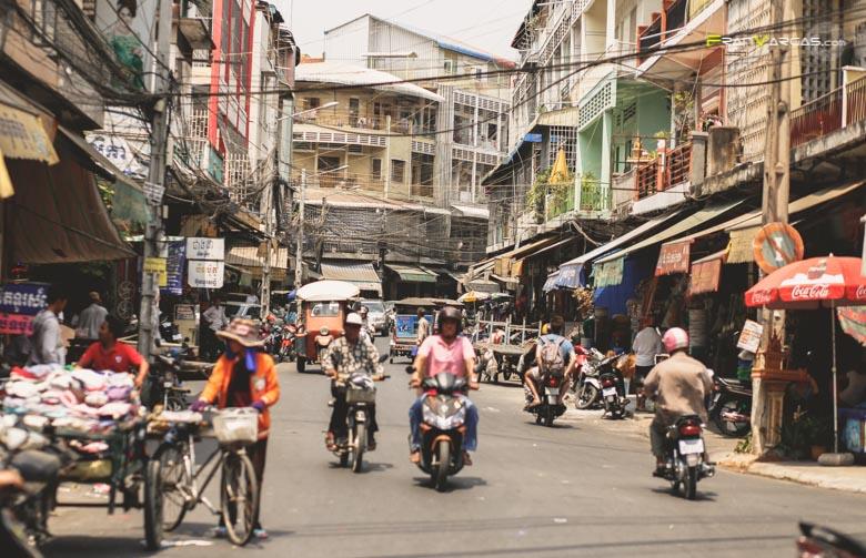 Phnom Penh, la Caotica capital Camboyana.