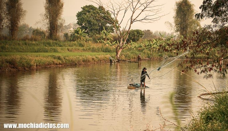 Tres dias en Chian Rai , Tailandia