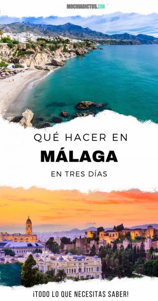 Qué hacer en Málaga en 3 días