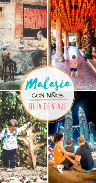 Malasia con niños, guía de viaje.