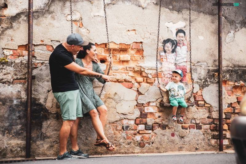 Malasia con niños