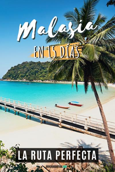 Malasia en 15 días, Pinterest.