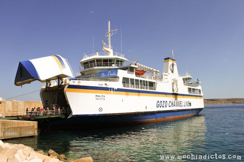 El Ferry cuesta 5€ y es válido durante todo un año!!!