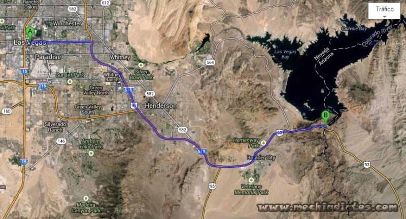 Mapa Hoover