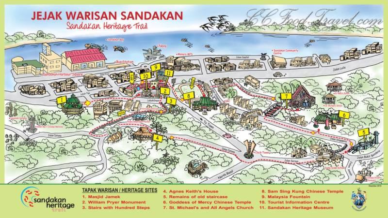 Viajar a Borneo Sandakan