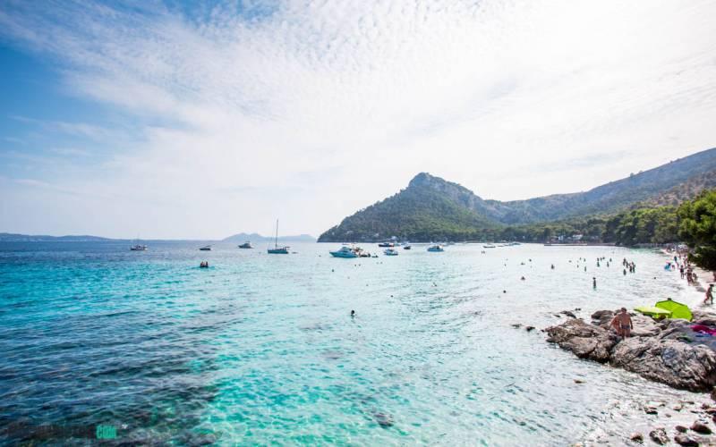 Mejores playas de Mallorca : PLaya de Formentor