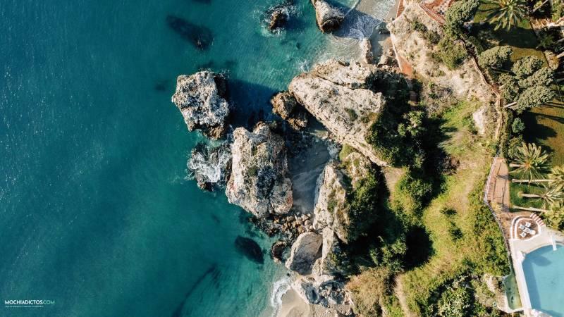 Mejores playas de Nerja Carabeillo
