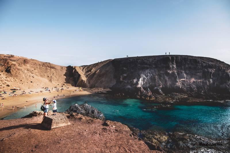 Mejores playas para ir con niños en Lanzarote