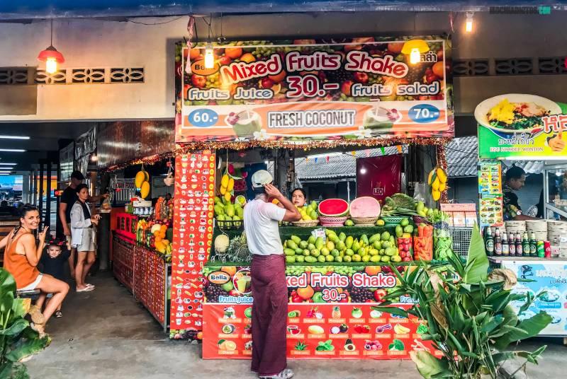 Mercados en Koh Phangan