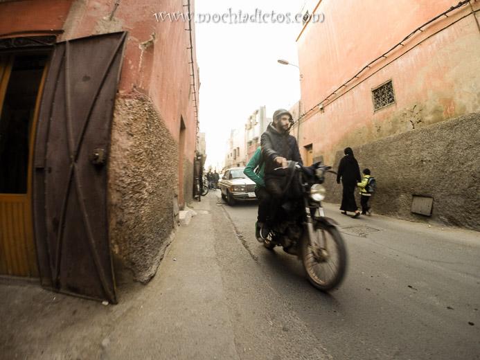 Llegada a Marrakech, Primeras Impresiones