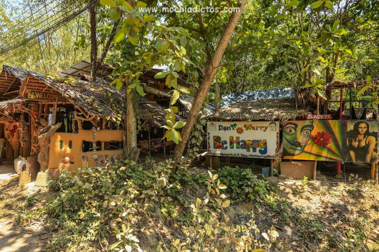 Nuestro alojamiento en Kho Lanta