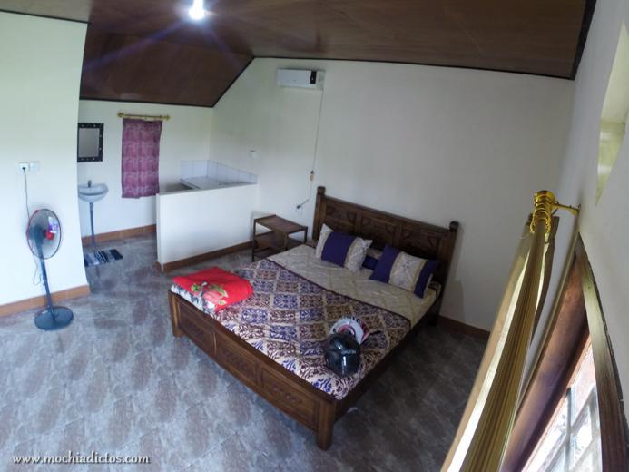 Nuestra habitación enorme en Soca House