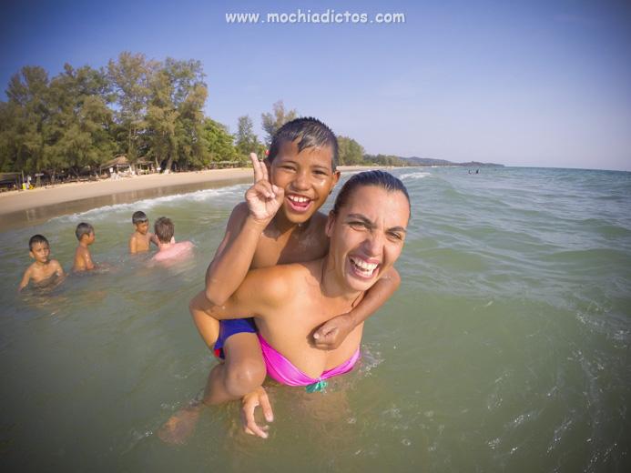 dos días en Kho lanta Tailandia
