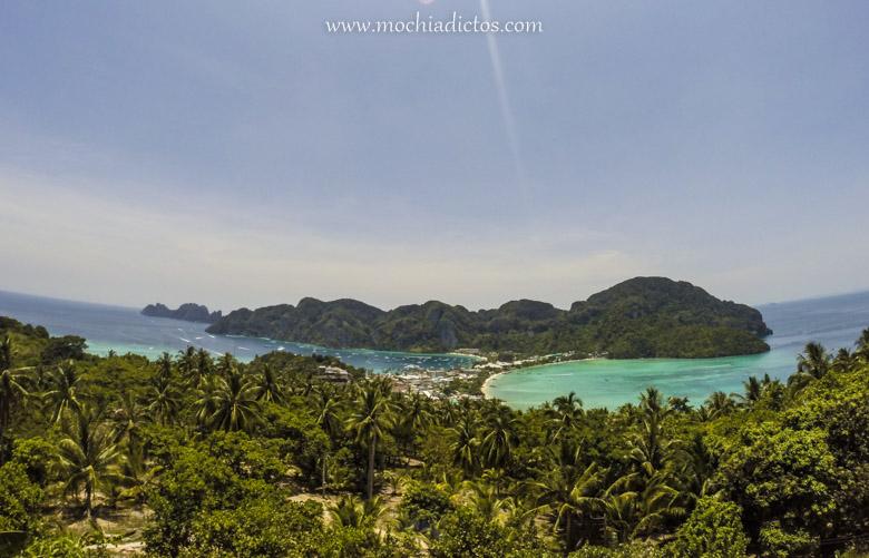 Vistas de la isla