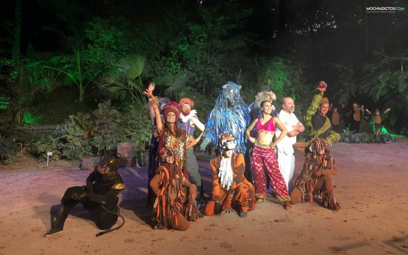 Musical hara Málaga con niños Jardín botánico