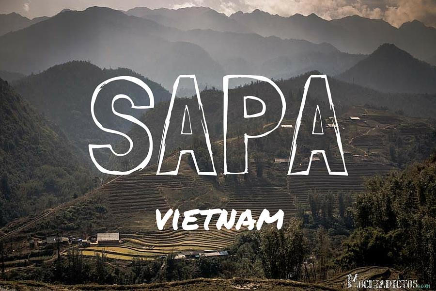 Sapa, al norte de Vietnam.Días de trekkings y aldeas entre arrozales.