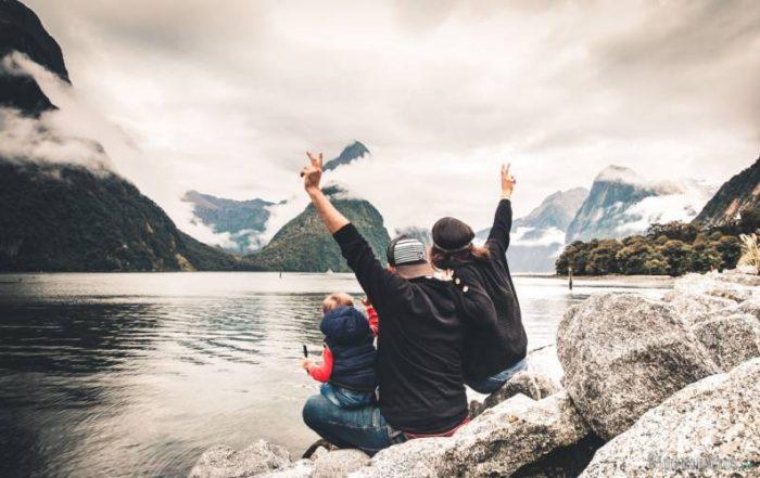 Nueva Zelanda con bebé