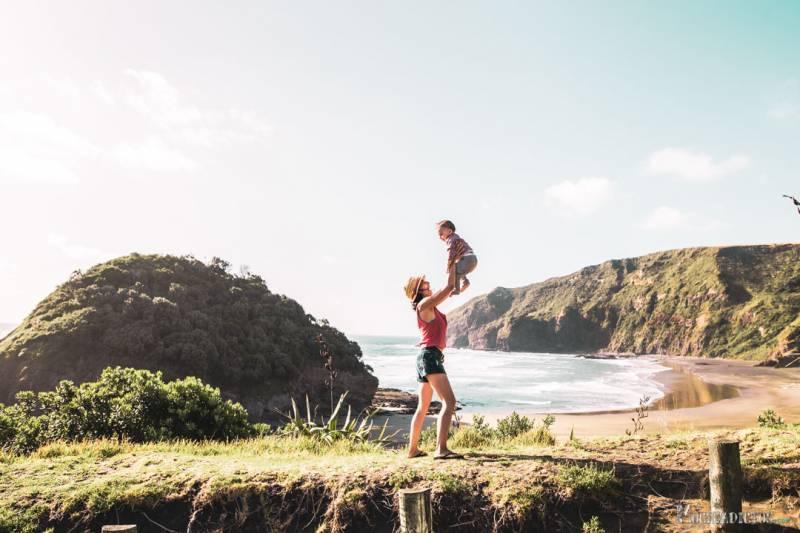 Nueva Zelanda con niños