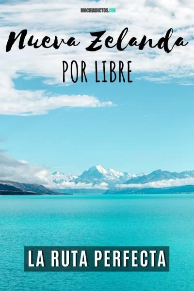 Nueva Zelanda por libre, Pinterest.
