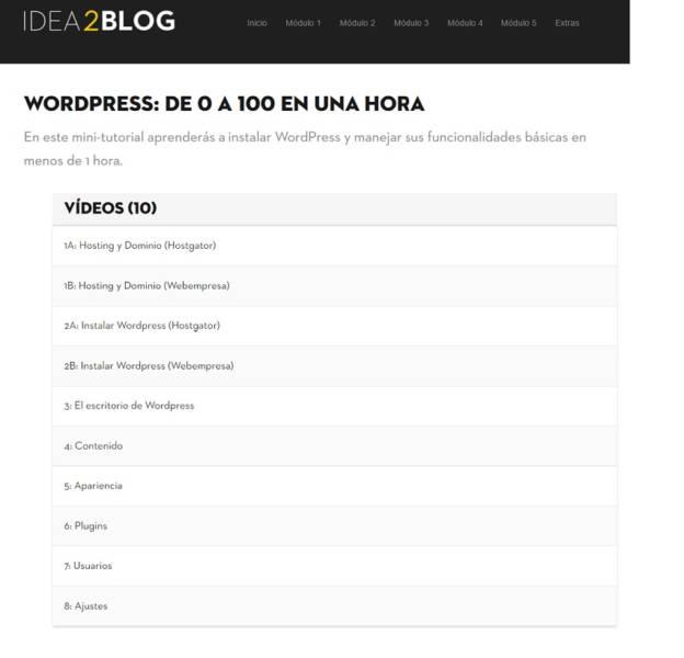 idea2blog opiniones