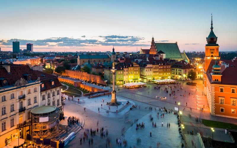 Polonia en 4 dias