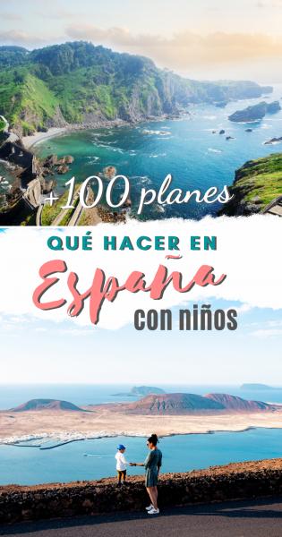 Planes con niños en España