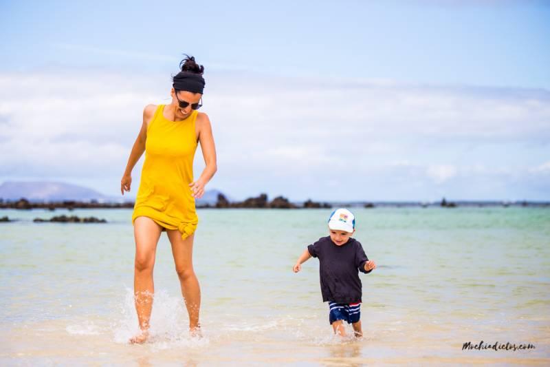 Playas en Lanzarato para niños