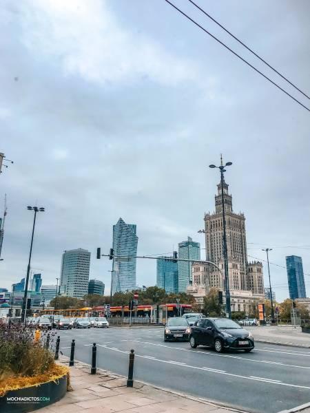 Polonia en 4 días palacio ciencias varsovia