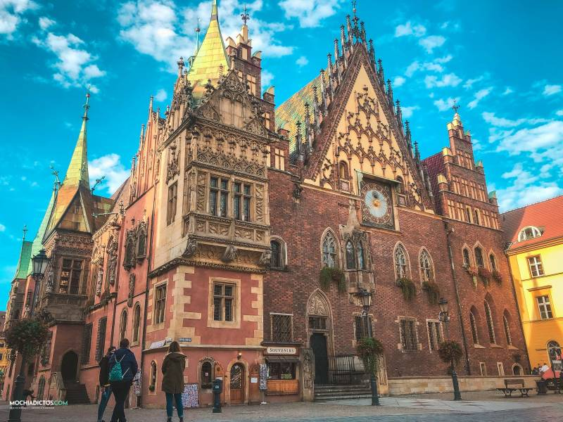 Polonia en 4 dias wroclaw