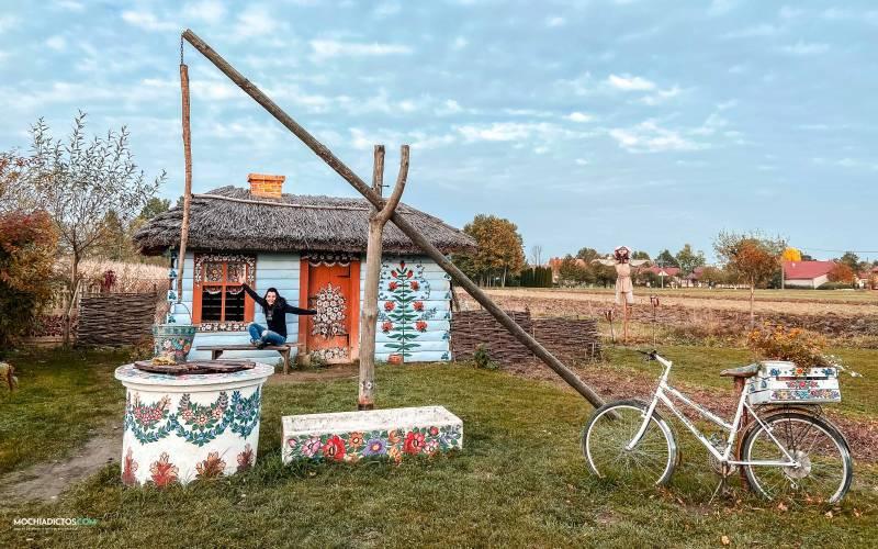Visitar Zalipie el pueblo más bonito de Polonia