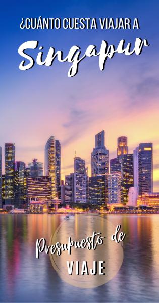 Presupuesto de viaje a Singapur.