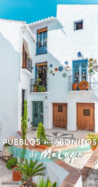 Pueblos más bonitos de Málaga, Pinterest