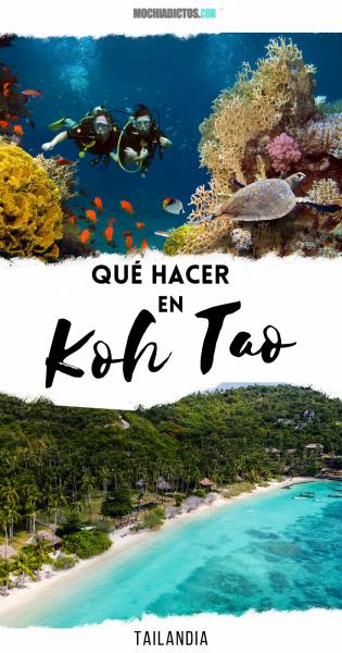 Qué hacer Koh Tao