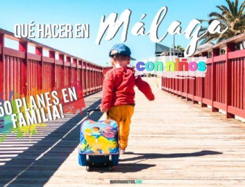 Qué hacer en Málaga con niños ¡42 planes en familia!